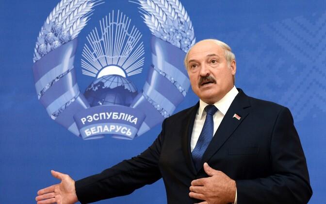 Valgevene president Alaksandr Lukašenka
