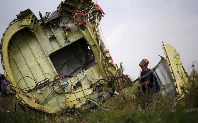 Malaisia reisilennuki tükk Donetski oblastis