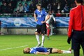 Estonia lost 1-0 to Switzerland from Ragnar Klavan's (on the ground) own goal 10 seconds before the whistle.