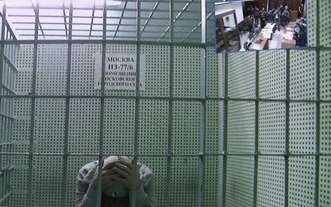 Trellitatud ruum Moskva linnakohtus
