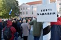 Anti-immigration rally in Tallinn