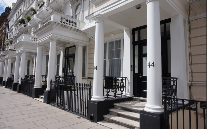 Estonian Embassy's new Consular Section at 44 Queen's Gate Terrace