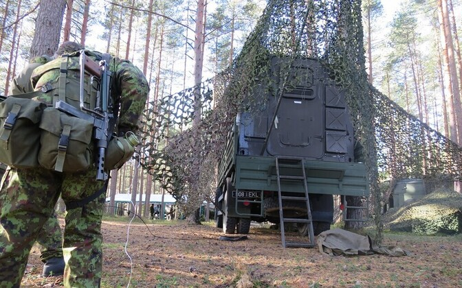 An Estonian Defence League training exercise.