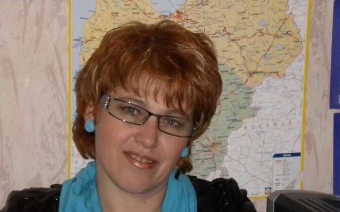 Бывший руководитель Нарвского округа Центристской партии Елена Вальме.