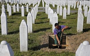 Srebrenica veretöö ohvrite kalmistu.