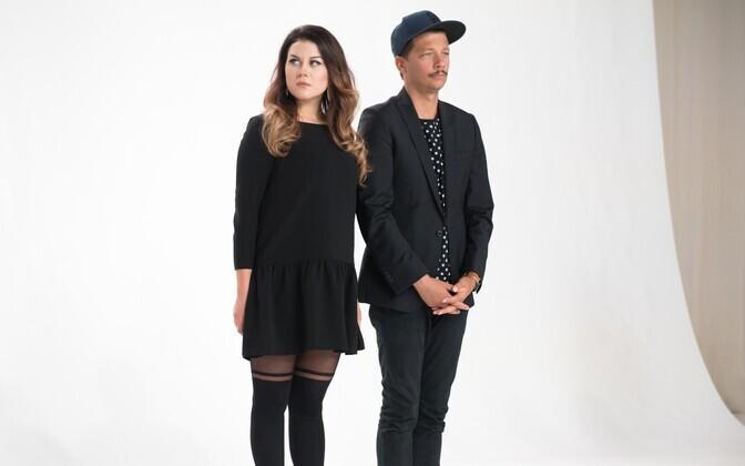 Eesti Laulu reklaamvideo filmimine.
