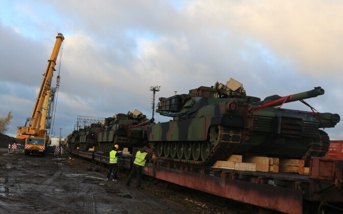Hampered by legal as well as physical obstacles: transport of U.S. military equipment across Europe.