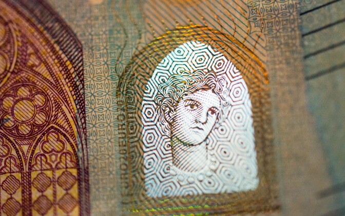Uus 20-eurone pangatäht