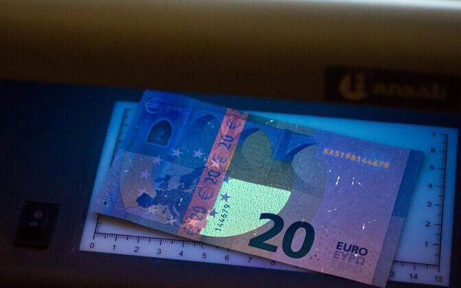20-eurone rahatäht.