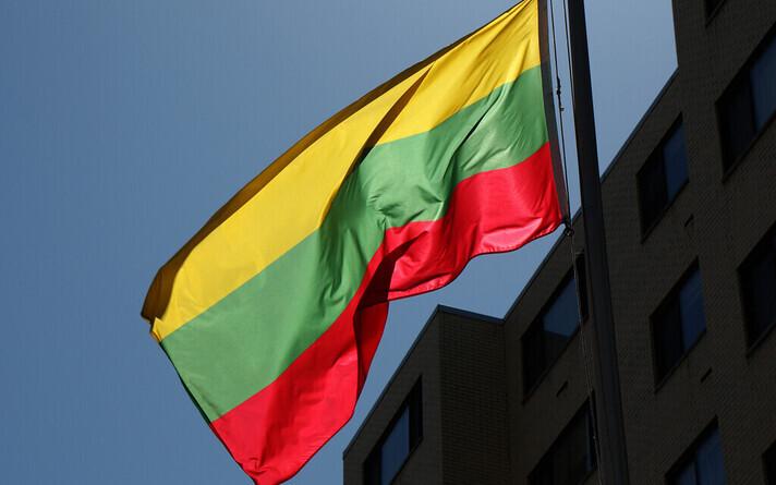 Флаг Литвы. Иллюстративное фото.