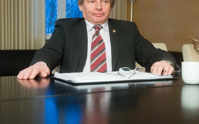 Kohtla-Järve endine linnapea Jevgeni Solovjov.