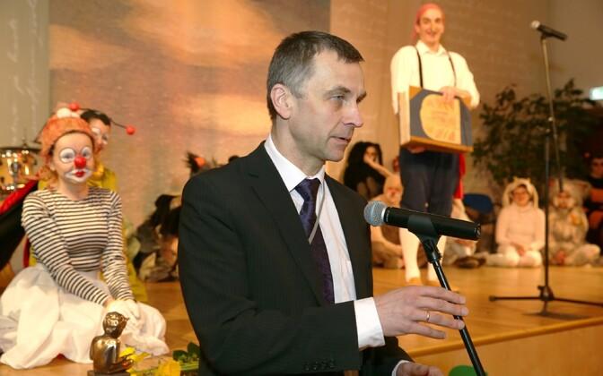 Глава Языковой инспекции Ильмар Томуск.