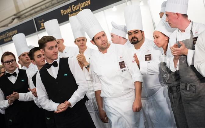 Bocuse d'Or kokkade võistlus Toidumessil 2015.