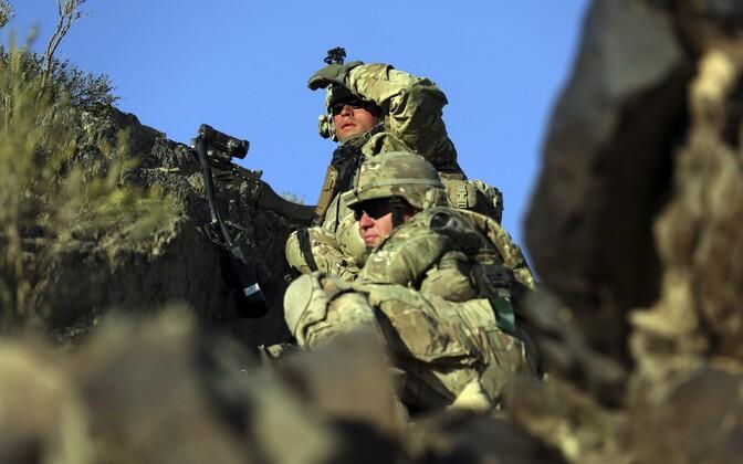 USA sõdurid.