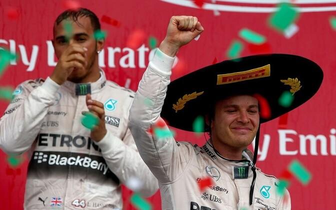 Lewis Hamilton ja Nico Rosberg