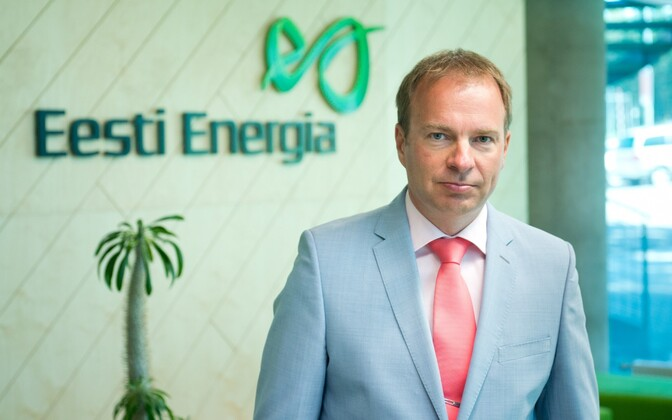 Hando Sutter, CEO of Eesti Energia.