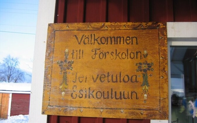 Meä keel Rootsis.