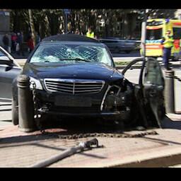 Raske liiklusõnnetus Tallinna kesklinnas 16. mail 2015 lõppes 14 vigastatuga.
