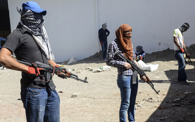 PKK võitlejad.