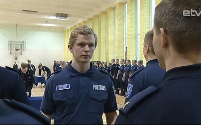 Принятие присяги в Колледже полиции и погранохраны Академии МВД.