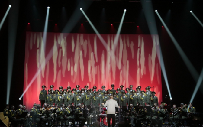 Minister of Defence denies Russian armed forces ensemble