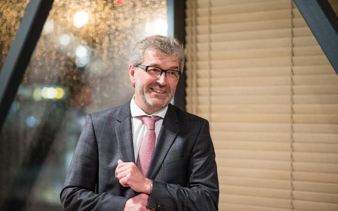 Председатель совета Nordica Пеэтер Тохвер.