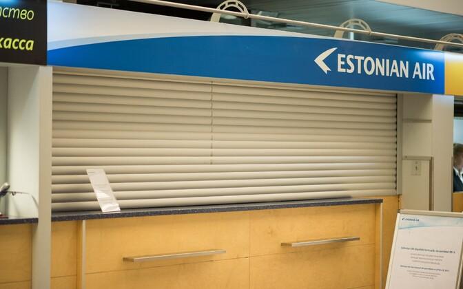 Estonian Airi pankrot on võlausaldajad oma raha ootama jätnud.