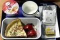 In-flight meal in 2003
