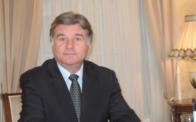 Посол России в Эстонии Александр Петров.
