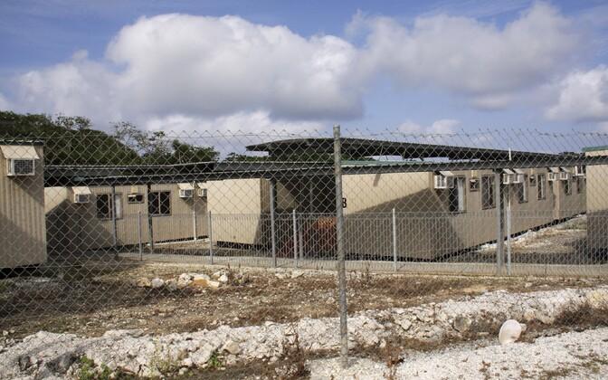 Austraalia migrantide kinnipidamiskeskus Jõulusaarel.