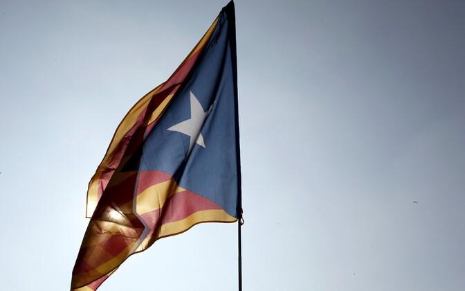 Kataloonia lipp.