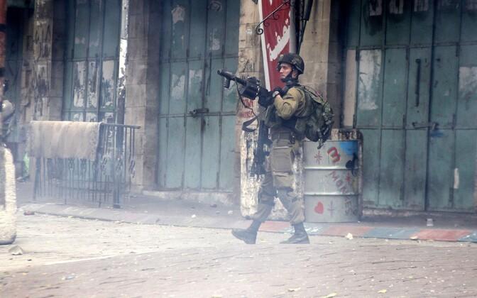Iisraeli sõdur.