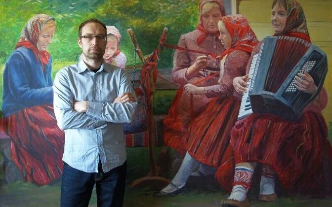 Stanislav Antipovi koos maaliga