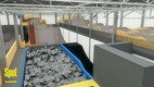 Spot of Tallinn extreme sports and recreation center 3D design