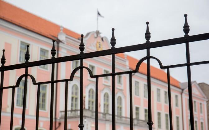 Riigikogu hoone Tallinnas Toompeal