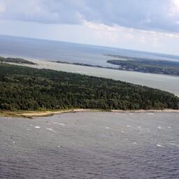 Вид на остров Аэгна.