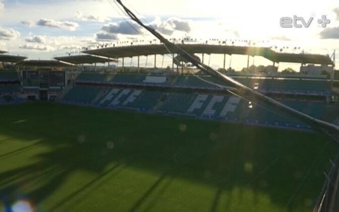 Футбольный стадион в Лиллекюла.