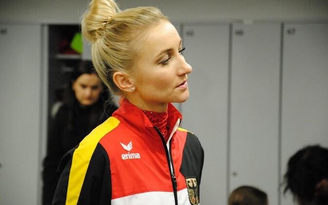 Алена Савченко в Таллинне.