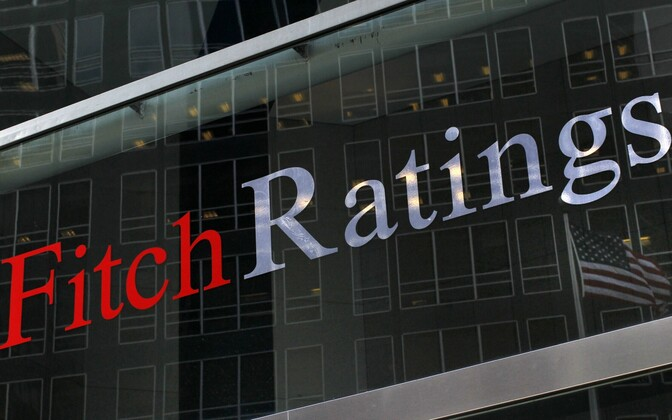 Fitch Ratings headquarters in New York.