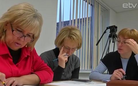 Учителей из Ида-Вирумаа готовят к экзамену по эстонскому языку.