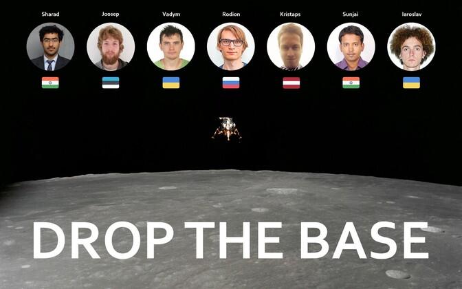 Rahvusvaheline Kuu väljakutse võistkond.