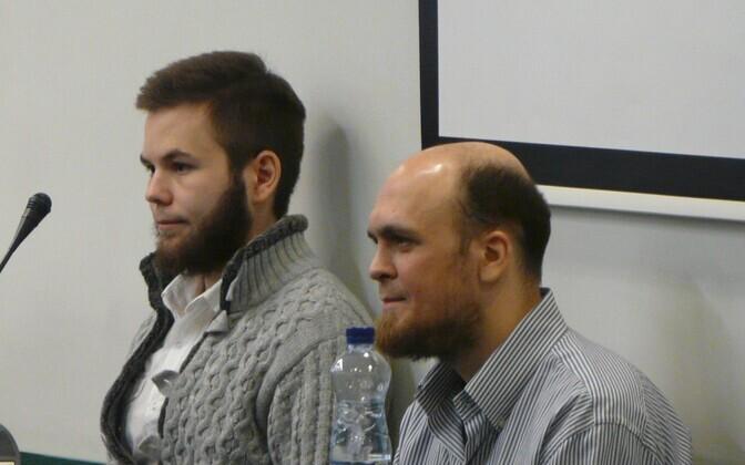 Ramil Khalilov ja Roman Manko
