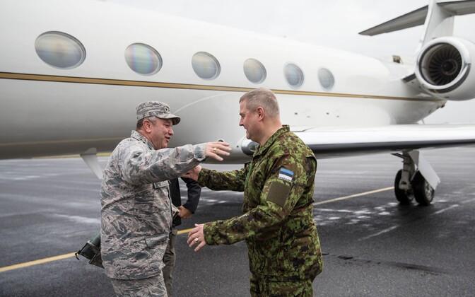 General Breedlove in Estonia