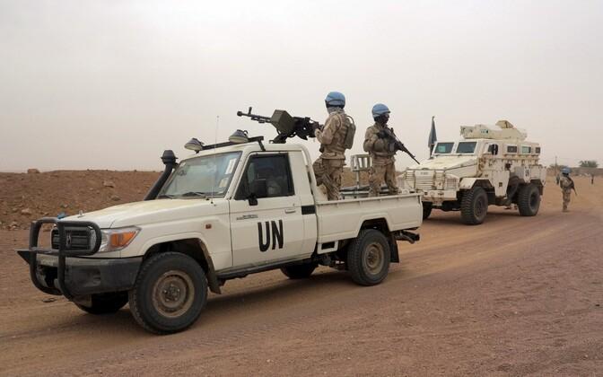ÜRO rahuvalvajad Kidalis.