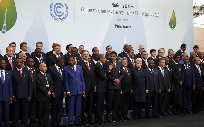 Riigijuhid Pariisi kliimakonverentsil