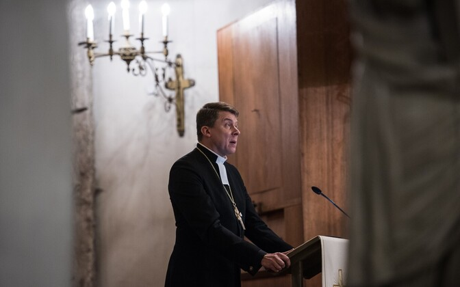 Archbishop Urmas Viilma (EELK).