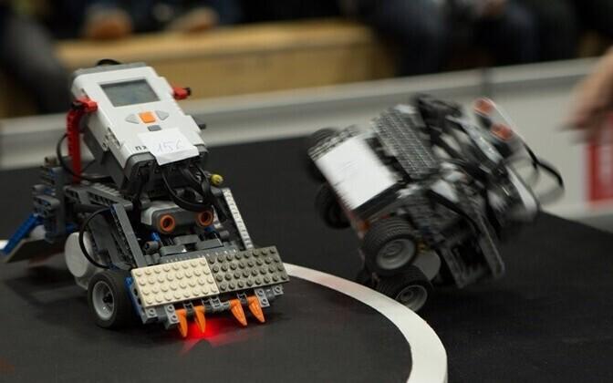 Выставка Robotex в ТТУ.