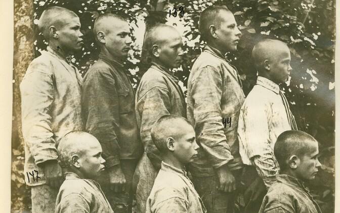 Harku alaealiste kurjategijate koloonia kasvandikud enne Teist maailmasõda.