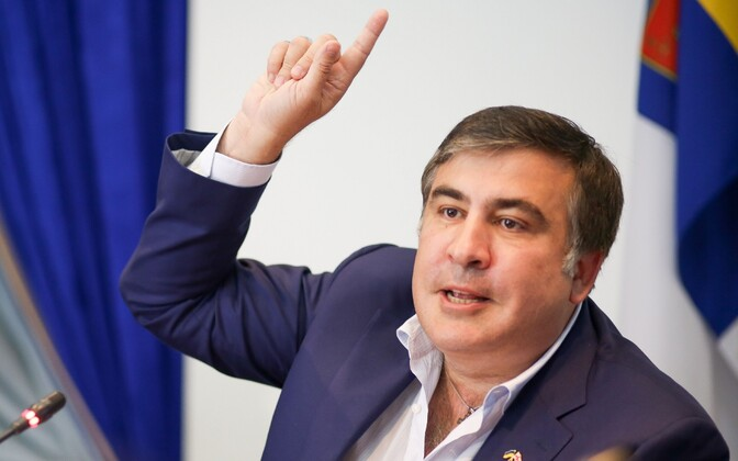 Odessa kuberner Mihheil Saakašvili
