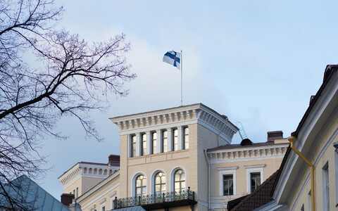 The Finnish embassy in Tallinn.